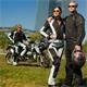 Germot Damen Motorradjacke X-Air Evo Blouson, Hellgrau