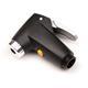 Topeak Luftpumpe Pumpenkopf SmartHead mit Luftablassknopf, Schwarz