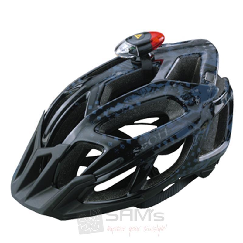 topeak headlux din norm helmlampe frontlicht fahrrad led. Black Bedroom Furniture Sets. Home Design Ideas