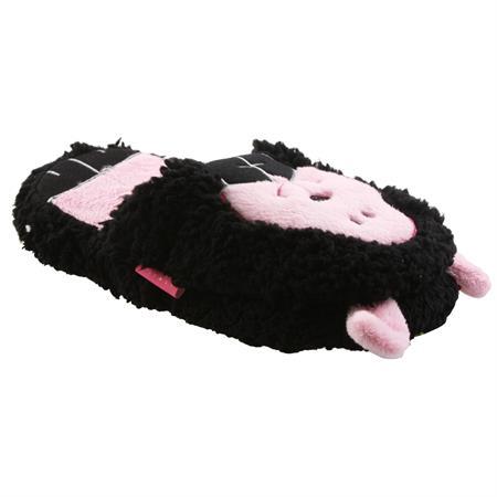 Muh Kuh Bärchen Schaf Tier Hausschuhe Pantoffel Schlappen Slipper Kuscheltier Plüsch Damen 35-41