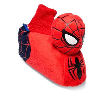 MARVEL Spiderman Comic Hausschuhe Pantoffel Schlappen Kuscheltier Plüsch Kinder Rot 18-28