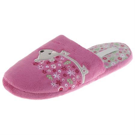 Igel Tier Hausschuhe Pantoffel Puschen Schlappen Slipper Kuscheltier Plüsch Mädchen Rosa 36-41