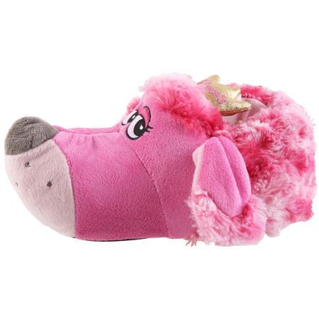 Prinzessinen Hund Tier Hausschuhe Pantoffel SchlappenKuscheltier PlüschMädchen Pink 27-41