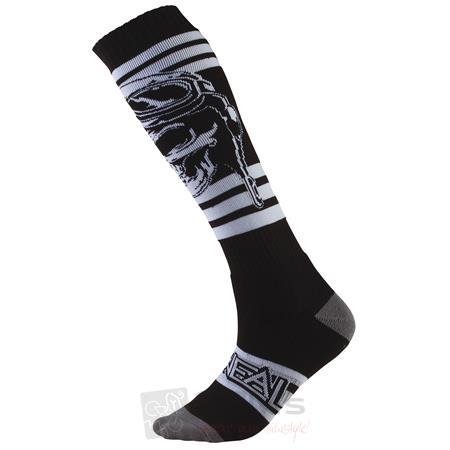 O'Neal Pro MX Socken RIDERS Schwarz Weiß