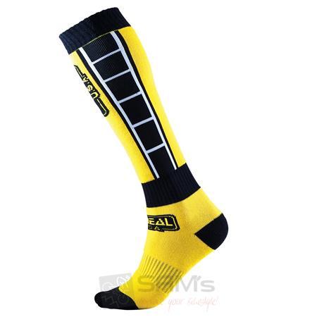O'Neal Pro MX Socken RETRO Gelb Schwarz
