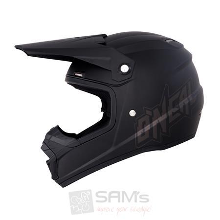 O'Neal 5Series MX Helm FLAT black / schwarz