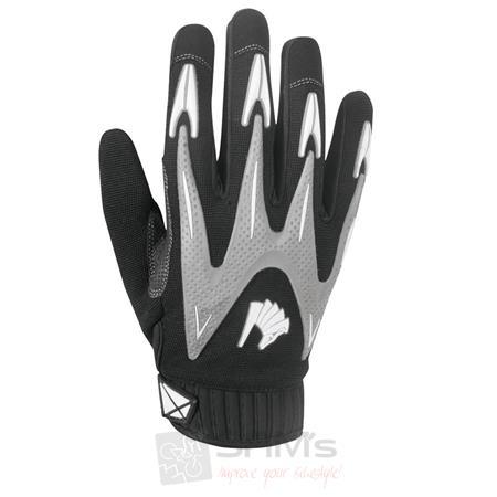 Germot Motorrad Handschuhe Ventura Schwarz Grau