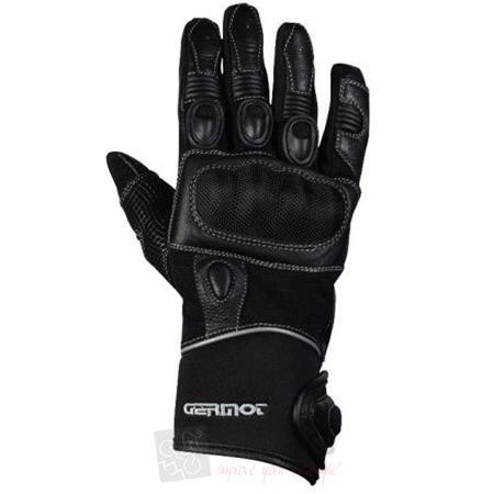 Germot Motorrad Handschuhe Miami Schwarz