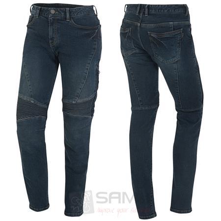 germot kate motorrad jeans damen blau l32 slimfit. Black Bedroom Furniture Sets. Home Design Ideas