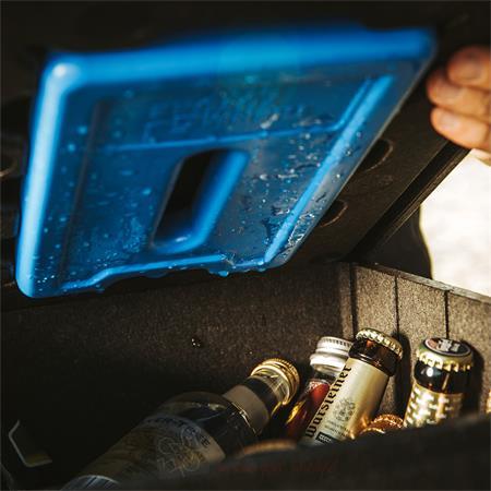 Bier Lounge Thermo Box Kühlbox Bier Kasten Aufsatz Tisch Getränke Isoliert