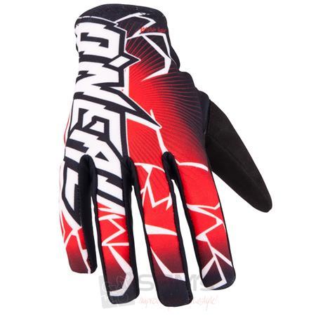 O'Neal Matrix Handschuhe Schwarz Rot