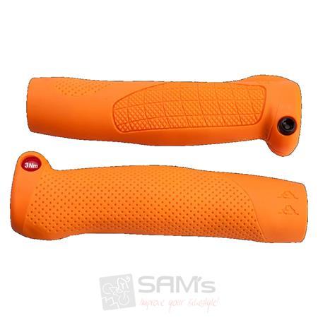 66sick Fahrrad Griff AA GRIP Orange Ergonomisch