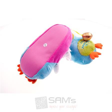SAMs Damen Tierhausschuhe Huhn, Mehrfarbig Pic:1
