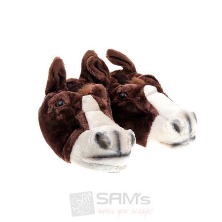 SAMs Unisex Tierhausschuhe Pferd Esel