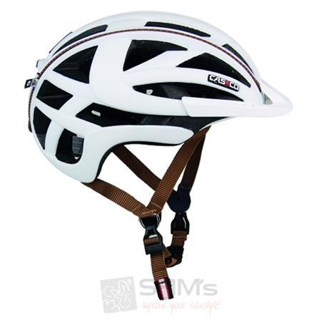 CASCO Sportiv-TC weiß braun Fahrrad Trekking