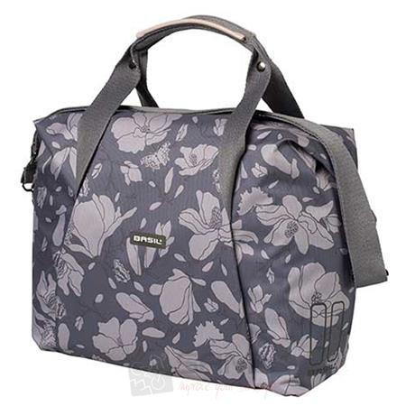 basil carry all magnolia handtasche 18 l fahrrad damen. Black Bedroom Furniture Sets. Home Design Ideas