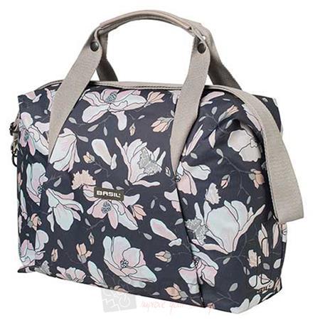 basil carry all magnolia handtasche 18 l fahrrad damen schulter gep cktr ger rad ebay. Black Bedroom Furniture Sets. Home Design Ideas