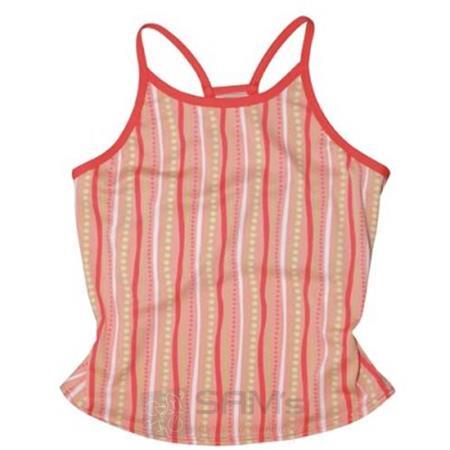 Insport Damen Funktionstop Candy Stripe, Peach