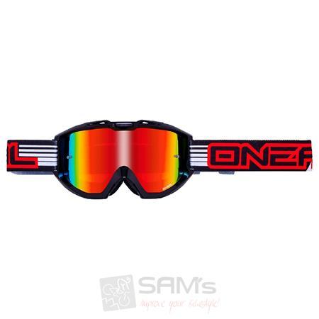 Oneal Ersatzscheibe B1 Brille Farbe//Gr/ö/ße Verspiegelt verspiegelt