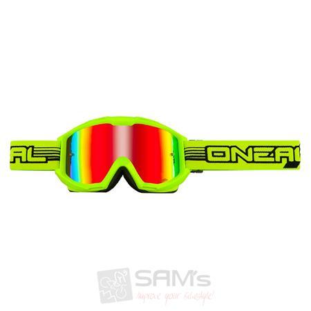 O'Neal B1 RL Goggle FLAT Neon Gelb Radium Brille