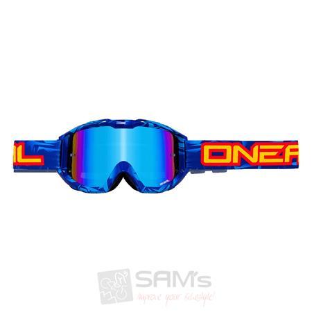 O'Neal B1 RL Goggle ICEBREAKER Blau Schwarz Radium