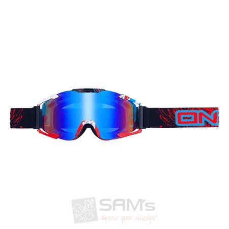 O'Neal B2 RL Goggle SPRAY Schwarz Radium Brille