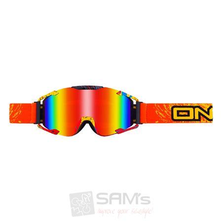 O'Neal B2 RL Goggle SPRAY Orange Radium Brille