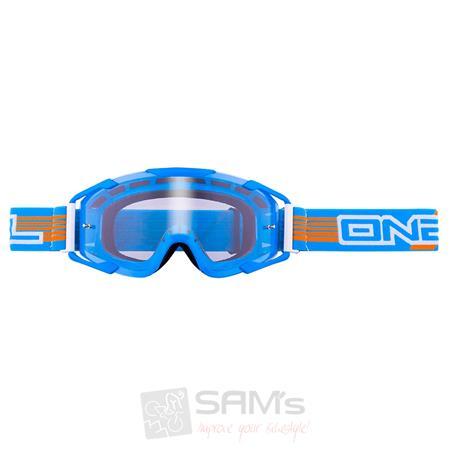 O'Neal B2 RL Goggle THREESIXZERO Blau Klar Brille