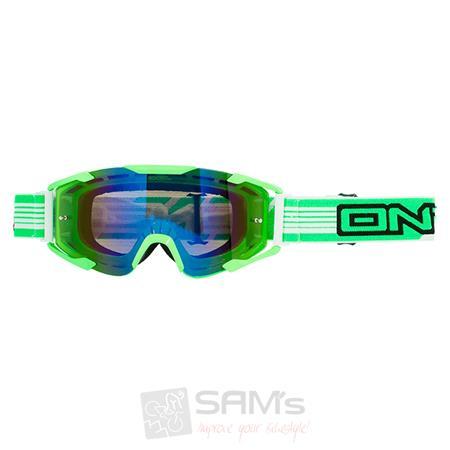 O'Neal B2 RL Goggle THREESIXZERO Grün Radium