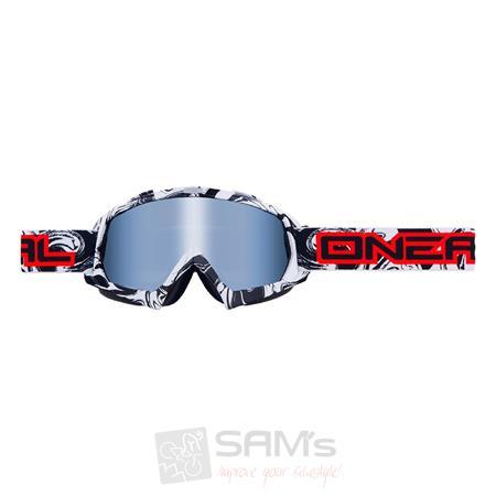 O'Neal B-Flex Goggle Brille HENDRIX Schwarz Weiß
