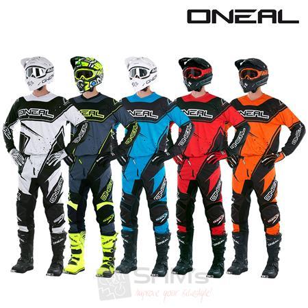 37cd1f939cf6 O Neal Element Racewear Combo Jersey Hose Motocross MX MTB DH Downhill  Offroad