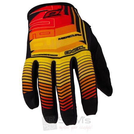 O'Neal Jump MERCURY Schwarz Multi Handschuhe