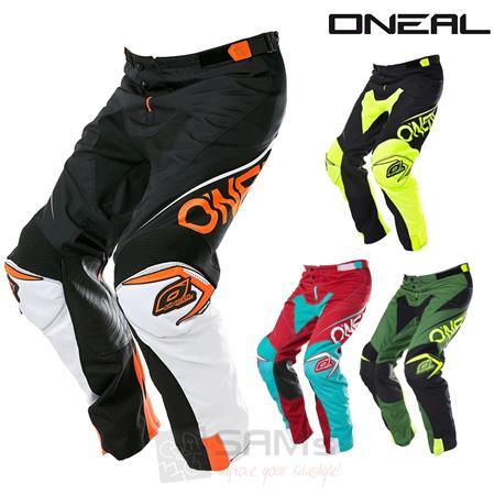 O/'Neal Element Vandal schwarz grün mx motocross cross Hose 32 34 36 38 40