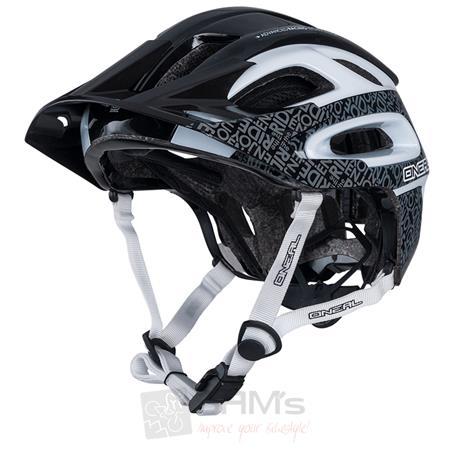 O'Neal Orbiter II Fidlock Helm Schwarz Weiß