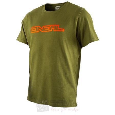 O'Neal Piledriver T-Shirt Grün Unisex kurzarm