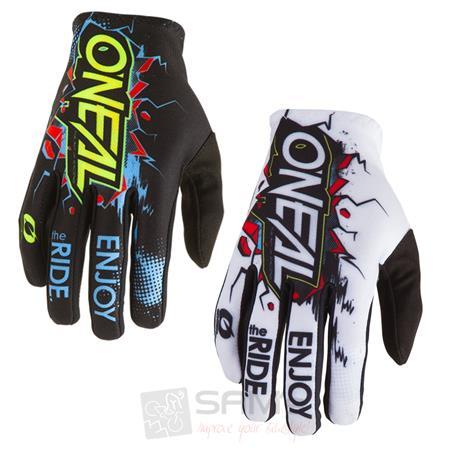 ONeal Moto Cross Mountainbike Handschuhe Schwarz MX MTB FR DH Motorrad Fahrrad