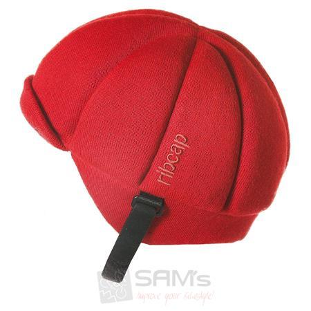 Ribcap Jackson Mütze mit Protektoren Rot