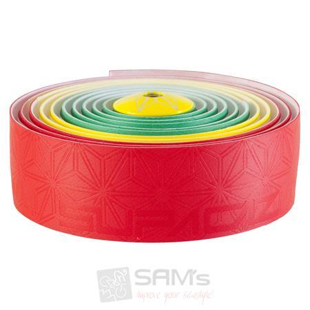 Supacaz Super Sticky Kush Lenkerband rot gelb grün