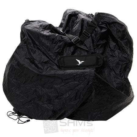 """Faltrad Transporttasche Klapprad Fahrrad-Tasche schwarz Nylon bis 20/"""" bike bag"""