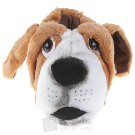 Tierhausschuhe Herren Hausschuhe Basset Hound Hund, Braun Pic:4