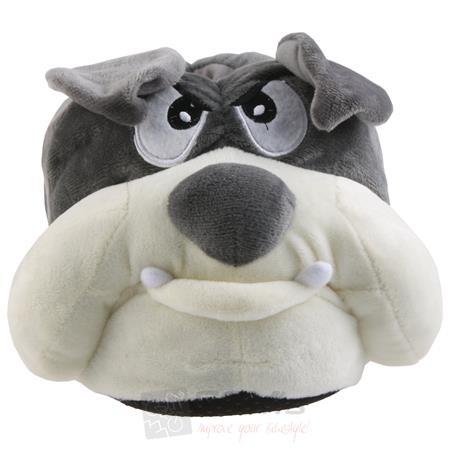 Tierhausschuhe Herren Hausschuhe Bulldogge Pic:2