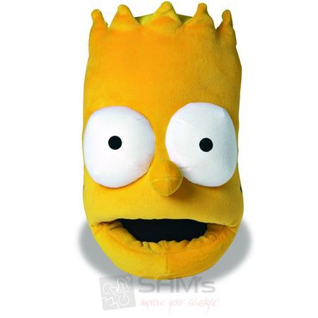 SAMs Herren Hausschuhe Die Simpsons Bart, Gelb