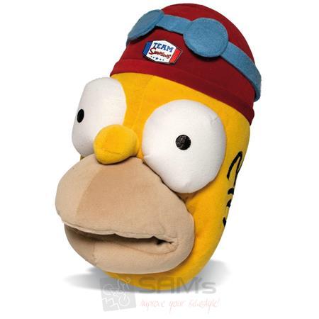 SAMs Herren Hausschuhe Die Simpsons Homer, Gelb