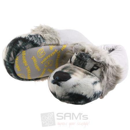SAMs Unisex Tierhausschuhe Wolf, Grau Pic:1