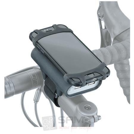 topeak smartphone fahrrad halter power pack akku. Black Bedroom Furniture Sets. Home Design Ideas