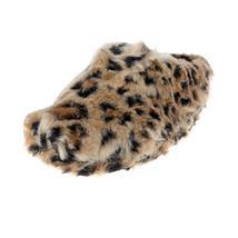Gepard Tier Hausschuhe Pantoffel Puschen Schlappen Slipper Kuscheltier Plüsch Damen Braun 36-41