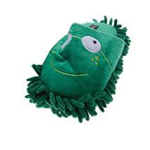 Frosch Tier Hausschuhe Pantoffel Puschen Schlappen Slipper Kuscheltier Plüsch Kinder Grün 36-41