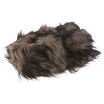 Big Foot Monster Kralle Tier Hausschuhe Pantoffel Schlappen Kuscheltier Plüsch Herren Braun 36-47 Pic:3