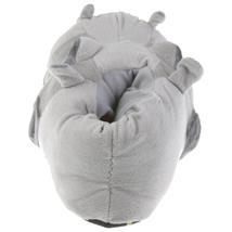 Flusspferd Hippo Tier Hausschuhe Pantoffel Schlappen Kuscheltier Plüsch Unisex Grau 36-48 Pic:2