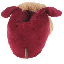 Stier Tier Hausschuhe Pantoffel Puschen Schlappen Kuscheltier Plüsch Damen Herren Rot 41-47 Pic:2